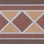 Подступенник мозаичный квадрат