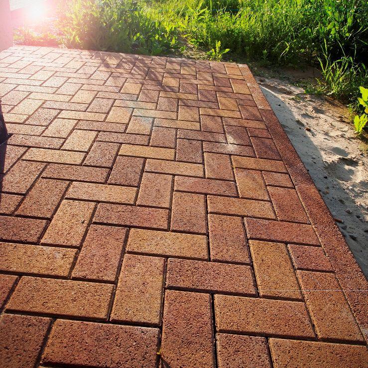 Тротуарная плитка, брусчатка бетонная